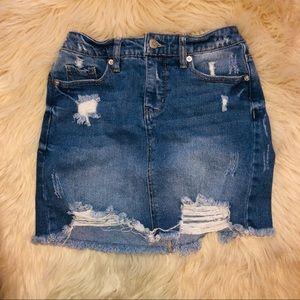 Target Wild Fable denim jean skirt